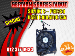 Suzuki S – Presso Radiator fan – New and Used spare parts availab