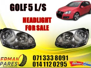 Golf 5 L/S Headlights for sale
