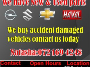 COME AND VISIT US – WE HAVE A VARIETY OF CHEV, OPEL, SUZUKI & HAV