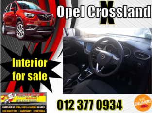 OPEL CROSSLAND INTERIOR SPARE PARTS AVAILABLE