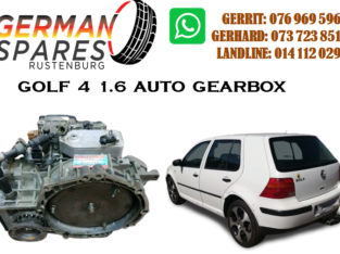 GOLF 4 1.6 AUTO GEARBOX FOR SALE