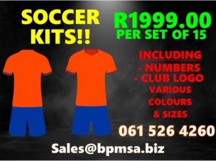 Sports Kits Manufactured for you