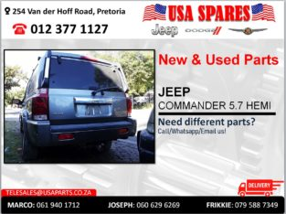 JEEP COMMANDER 5.7 HEMI NEW & USED PARTS FOR SALE