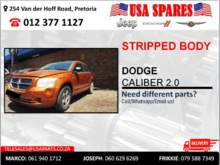 DODGE CALIBER 2.0 STRIPPED & NEW BODY PARTS/SPARES FOR SALE