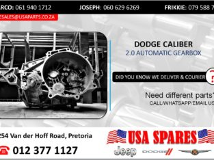 DODGE CALIBER 2.0 USED/STRIPPED AUTOMATIC GEARBOX FOR SALE