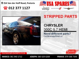 CHRYSLER 300C 5.7 HEMI USED STRIPPED PARTS FOR SALE