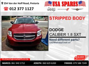 DODGE CALIBER 1.8 STRIPPED & NEW BODY PARTS/SPARES FOR SALE