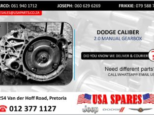 DODGE CALIBER 2.0 USED/STRIPPED MANUAL GEARBOX FOR SALE