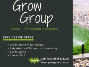 Grow Group: Irrigation and Landscaping with Maintenance