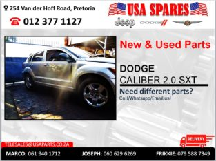 DODGE CALIBER 2.0 SXT NEW & USED PARTS FOR SALE