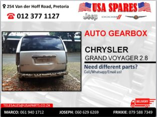 CHRYSLER GRAND VOYAGER 2.8 AUTOMATIC USED GEARBOX