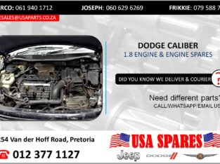 DODGE CALIBER 1.8 USED MOTOR & MOTOR SPARES/PARTS