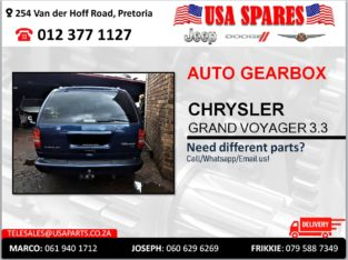 CHRYSLER GRAND VOYAGER 3.3 AUTOMATIC USED GEARBOX