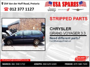 CHRYSLER GRAND VOYAGER 3.3 USED STRIPPED PARTS FOR SALE