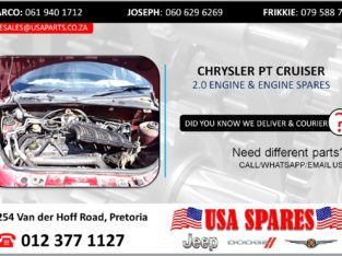CHRYSLER PT CRUISER 2.0 USED MOTOR & MOTOR SPARES/PARTS