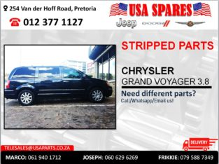 CHRYSLER GRAND VOYAGER 3.8 USED STRIPPED PARTS FOR SALE