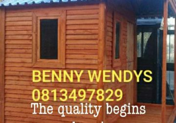 We do wendy houses and nutec in Cape town.