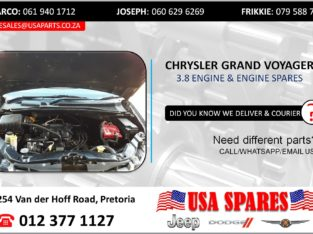 CHRYSLER GRAND VOYAGER 3.8 USED MOTOR & MOTOR SPARES/PARTS
