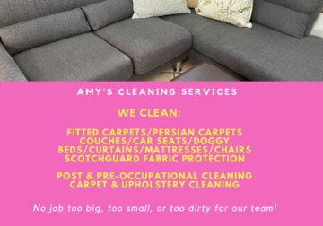 Carpet and Upholstery Cleaning Services