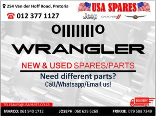 JEEP WRANGLER NEW & USED SPARES/PARTS