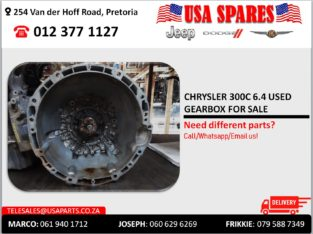 CHRYSLER 300C 6.4 USED GEARBOX FOR SALE