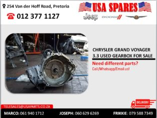 CHRYSLER GRAND VOYAGER 3.3 USED GEARBOX FOR SALE