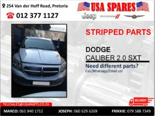 DODGE CALIBER 2.0 SXT USED STRIPPED PARTS FOR SALE