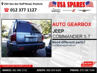JEEP COMMANDER 5.7 AUTOMATIC USED GEARBOX