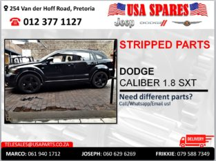 DODGE CALIBER 1.8 SXT USED STRIPPED PARTS FOR SALE
