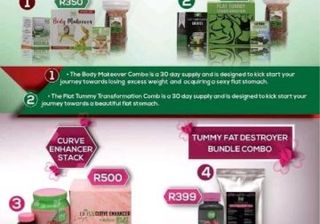 Mama's Flat stomach tea products