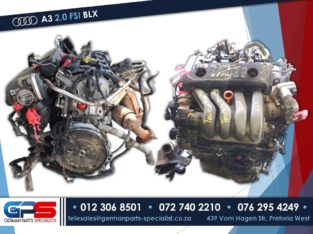 Audi A3 FSI 2.0 BLX Used Engine & Spares Parts
