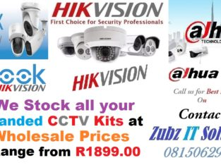 Branded CCTV Kits at Wholesale Prices
