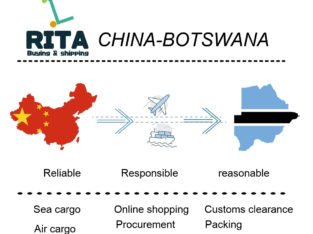 Online shopping from China to Africa