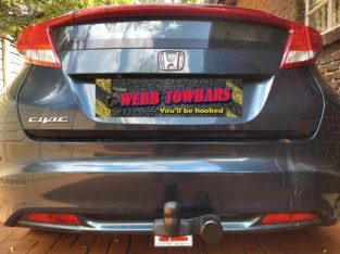 Honda Civic Hatchback Standard/Detachable Towbars