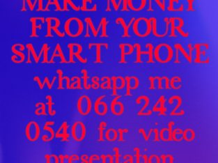 MAKE MONEY FROM YOUR SMARTPHONE