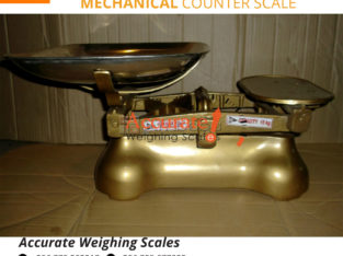 Get UNBS certified commercial counter table top weighing scales
