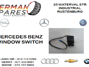 MERCEDES WINDOW SWITCH FOR SALE