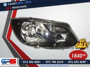 Volkswagen Caddy 2010 – 2014 New Headlights & Used Spares Parts