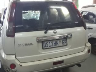 NISSAN X-TRAIL STRIPPING FOR SPARES