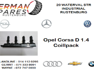 OPEL CORSA D 1.4 COILPACK FOR SALE