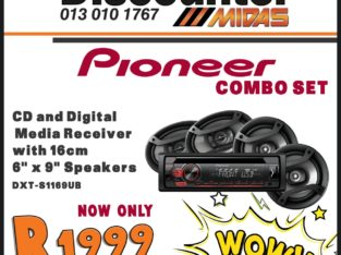 Pioneer Combo Set NOW ONLY R1999 at Discounter Midas!