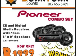 Pioneer Combo Set NOW ONLY R1999 at Downtown Spares!