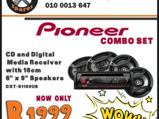 Pioneer Combo Set NOW ONLY R1999 at Mhluzi Spares!