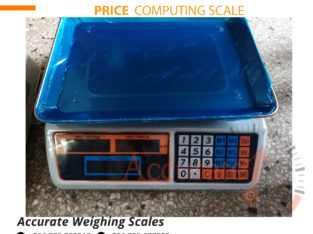 Price computing scale with Aluminum load cell supporter for sale