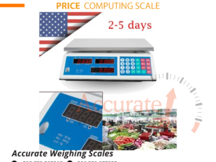 Approved price computing scale by OIML certificate with a printer