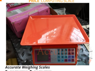 Purchase price computing scale with stainless steel housing