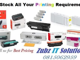 We Stock All Your Printer Requirements