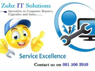 Call us for all your IT Repairs, Upgrades or sales
