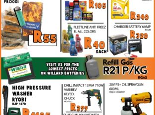 Unbeatable Weekend Specials at Modimolle Spares