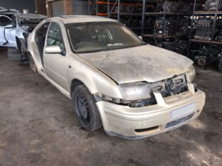 Volkswagen Jetta 4 TDI 2001 Manual AHF Stripping for Used Spares